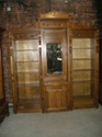Oak Bookcase Wall Unit