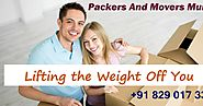 Packers and Movers Mumbai: Moving Can Accomplish To Best Outcomes If Coordinated In The Advantage And The Most Right ...
