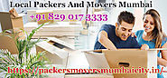 Packers and Movers Mumbai: Contract Best Packers And Movers In Mumbai, At Financial Charges