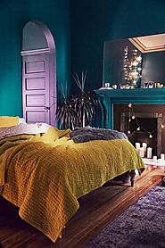Create a Romantic Room with Jewel Tones