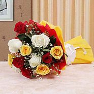 Send Love of Roses Online Same Day Delivery - OyeGifts.com