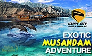 Full day Musandam dhow cruise trip