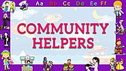 ABC Phonics Song of Community Helpers | Kids Nursery Rhymes