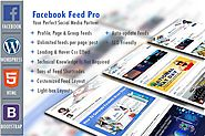 Facebook Feed Pro - Website to display the Facebook contents