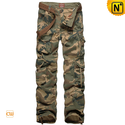 Cotton Military Cargo Camo Pants for Men CW140326