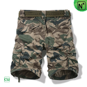 Camo Cargo Shorts for Men CW140060