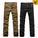 Designer Skinny Cargo Pants for Men CW140408