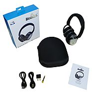 Noise Cancelling Bluetooth Headphones HEBNC80 - Heddys