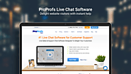 #1 Live Chat Software for Website Support & Sales - ProProfs
