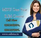 Apply Online for MDU One Year B.Ed Course