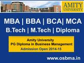 Amity University PG Diploma in Business Management