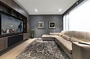Smart home and home cinema room design - Andrew Lucas London, UK