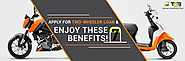 Apply online for a Two-Wheeler loan and enjoy these 7 benefits!