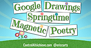 Control Alt Achieve: Springtime Magnetic Poetry with Google Drawings
