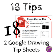 18 Tips: Google Drawing Tips Sheets - Teacher Tech