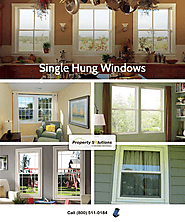 Single Hung Windows in South Florida