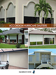 Accordion Hurricane Shutters in South Florida