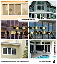 Impact Resistant Fixed Windows