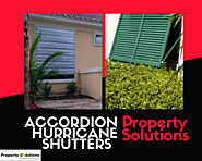 Accordion Hurricane Shutters South Florida