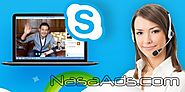 Skype Support is also existing free of cost on their Official Skype Support - NasaAds.com