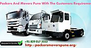 Packers and Movers Pune: Packers And Movers In Pune Stipends To Go Effectively And Successfully