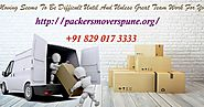 Packers and Movers Pune: The Best Technique To Bundle Chinaware And Expensive Things For An Advancement