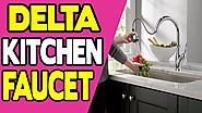 Delta Leland 9178 AR DST Single Handle Pull Down Kitchen Faucet with MagnaTite Docking