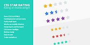 CSS Star Rating