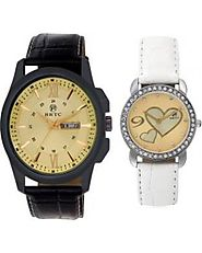 Couple Watches - Buy Couple Watches Online at best price | Fingoshop.com