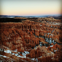 Bryce Canyon at Sunset #utah #sunset #canyon #hoodoos #nationalpark