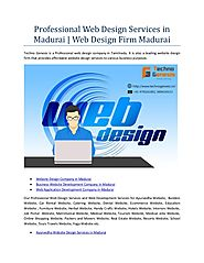 Professional web design services in madurai web design firm madurai