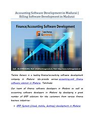 Accounting billing-inventory software development in madurai