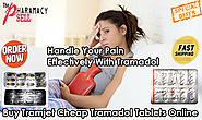 Handle Your Pain Effectively With Tramadol