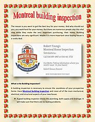 Montreal building inspection