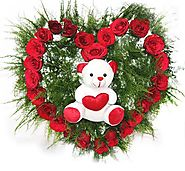 Buy/Send Cute & Romantic Surprise Online - YuvaFlowers.com