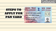 apply PAN card how to apply for PAN card | Finbucket |