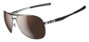 Oakley Men's Plaintiff Aviator Polarized Sunglasses