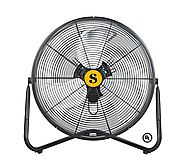 "B-Air FIRTANA-20 X 20"" Multi Purpose High Velocity Floor Fan"