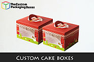 Custom cake boxes-add sweetness to your presentation too