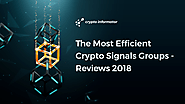 The most efficient crypto signals groups - comparison 2018
