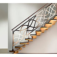 Stainless Steel Railing and Staircase