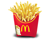 Large fries