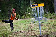 on eigth place we find frisbee golf