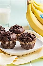 In 10th place, we have chocolate banana muffins!