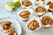 And finally, the moment you've all been waiting for! In first place we have cinnamon apple muffins!