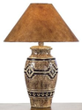 Amazon.com - Southwestern Petroglyph Table Lamp - Western Lamps