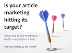 A Few Great Ways To Grow Your Business With Article Marketing