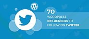 Top 70 WordPress Influencers to Follow in 2018