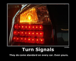 Failure to signal/ signaling too late
