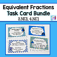 Equivalent Fraction Bundle by Mercedes Hutchens | TpT